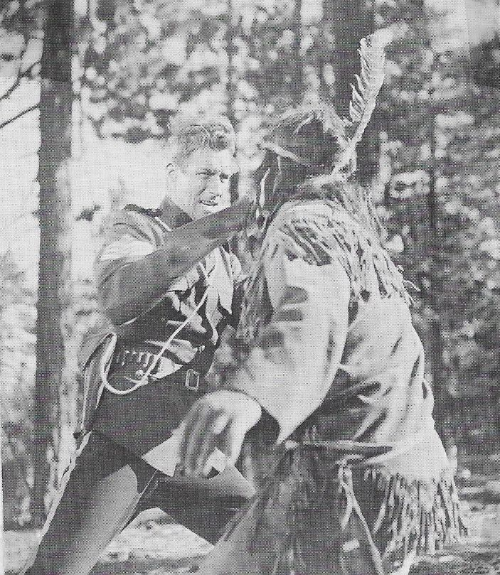 Jock Mahoney and Rodd Redwing in Gunfighters of the Northwest (1954)