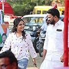 Dileep and Prayaga Martin in Ramaleela (2017)