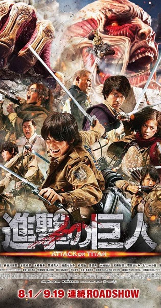 Attack On Titan Part 1 2015 Imdb