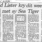 The Sea Tiger (1988)