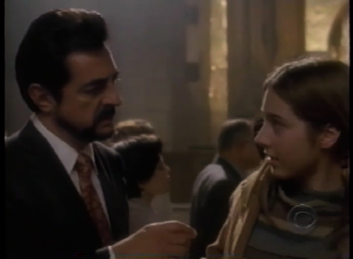 Still of Joe Mantegna and Rachel Grate in First Monday
