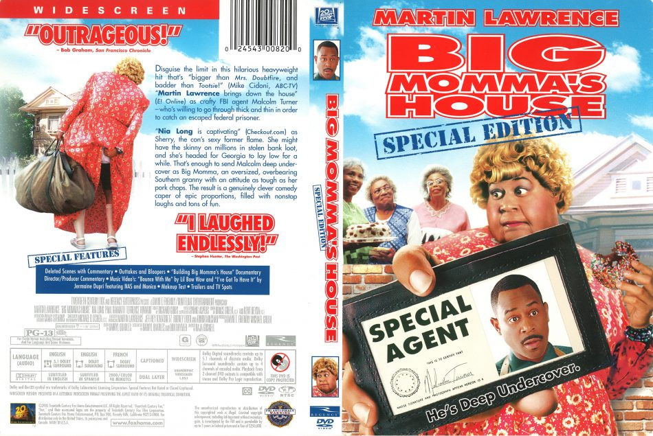 Martin Lawrence in Big Momma's House (2000)