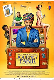 Bérénice Bejo, Dhanush, Erin Moriarty, and Barkhad Abdi in The Extraordinary Journey of the Fakir (2018)