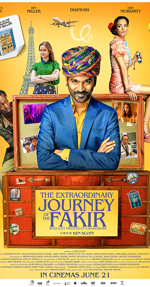 Watch Full HD Movie The Extraordinary Journey of the Fakir (2018)