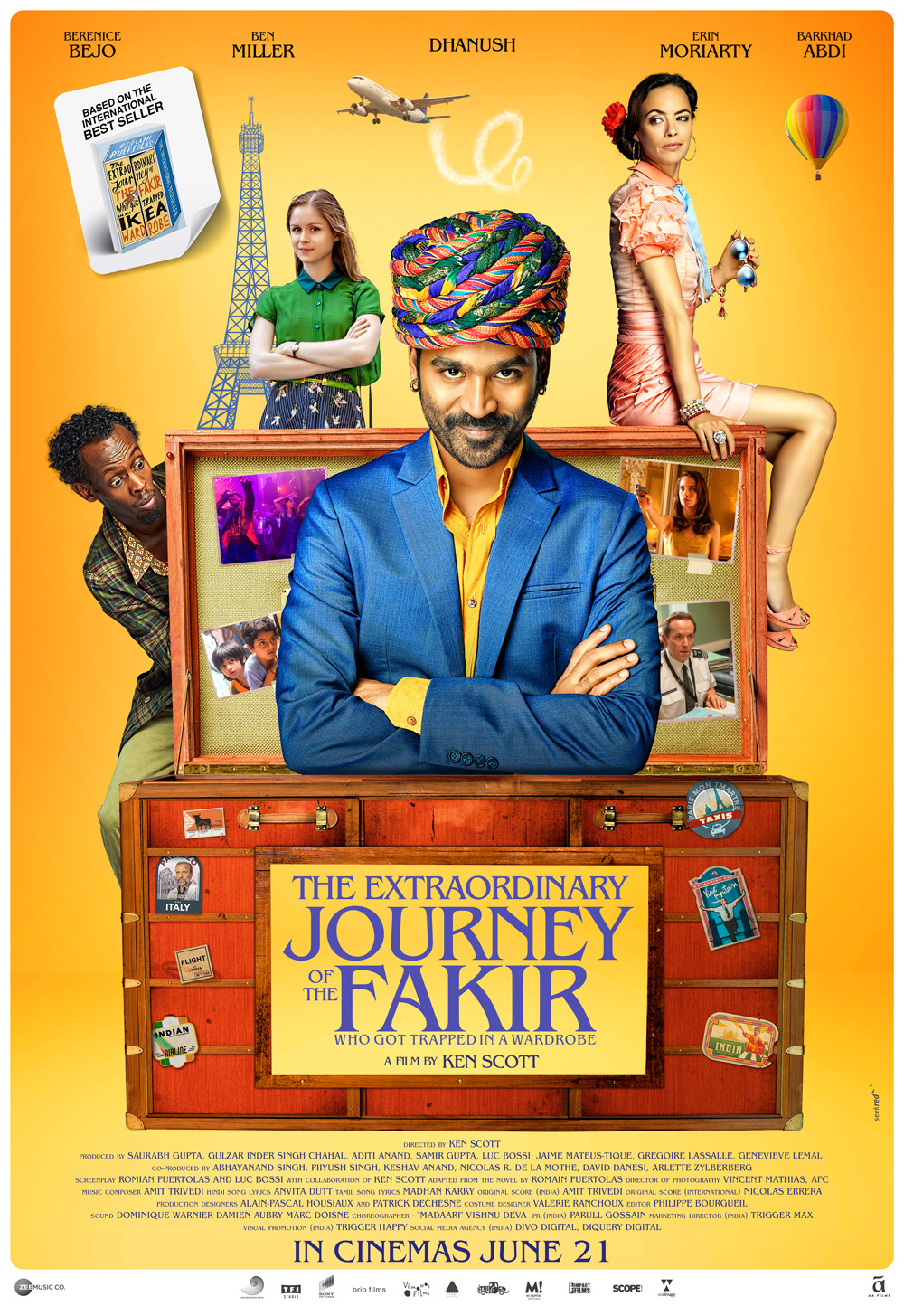 The Extraordinary Journey of the Fakir (2018) BluRay 720p