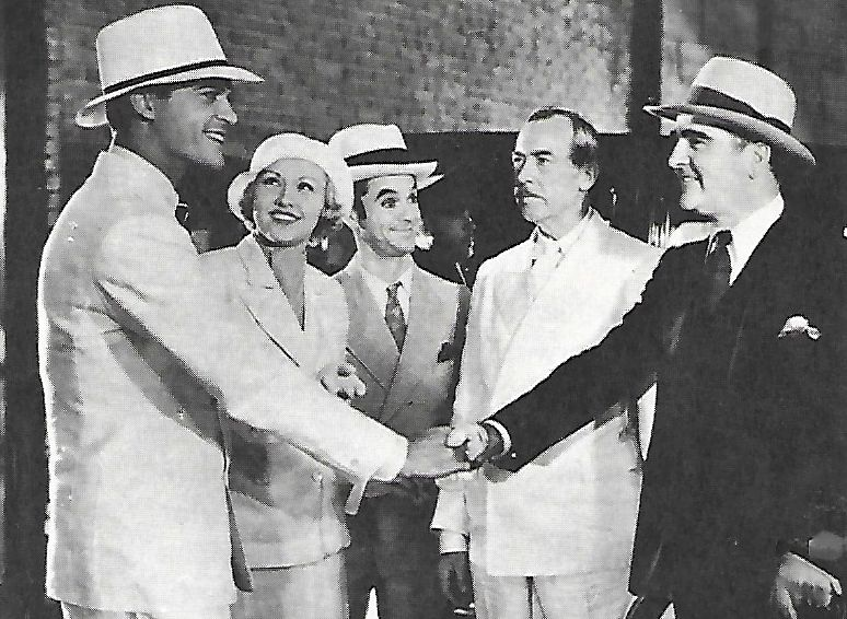William Desmond, James Durkin, Evalyn Knapp, Sonny Ray, and Craig Reynolds in Perils of Pauline (1933)