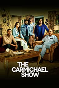David Alan Grier, Loretta Devine, Amber Stevens West, Tiffany Haddish, Lil Rel Howery, and Jerrod Carmichael in The Carmichael Show (2015)