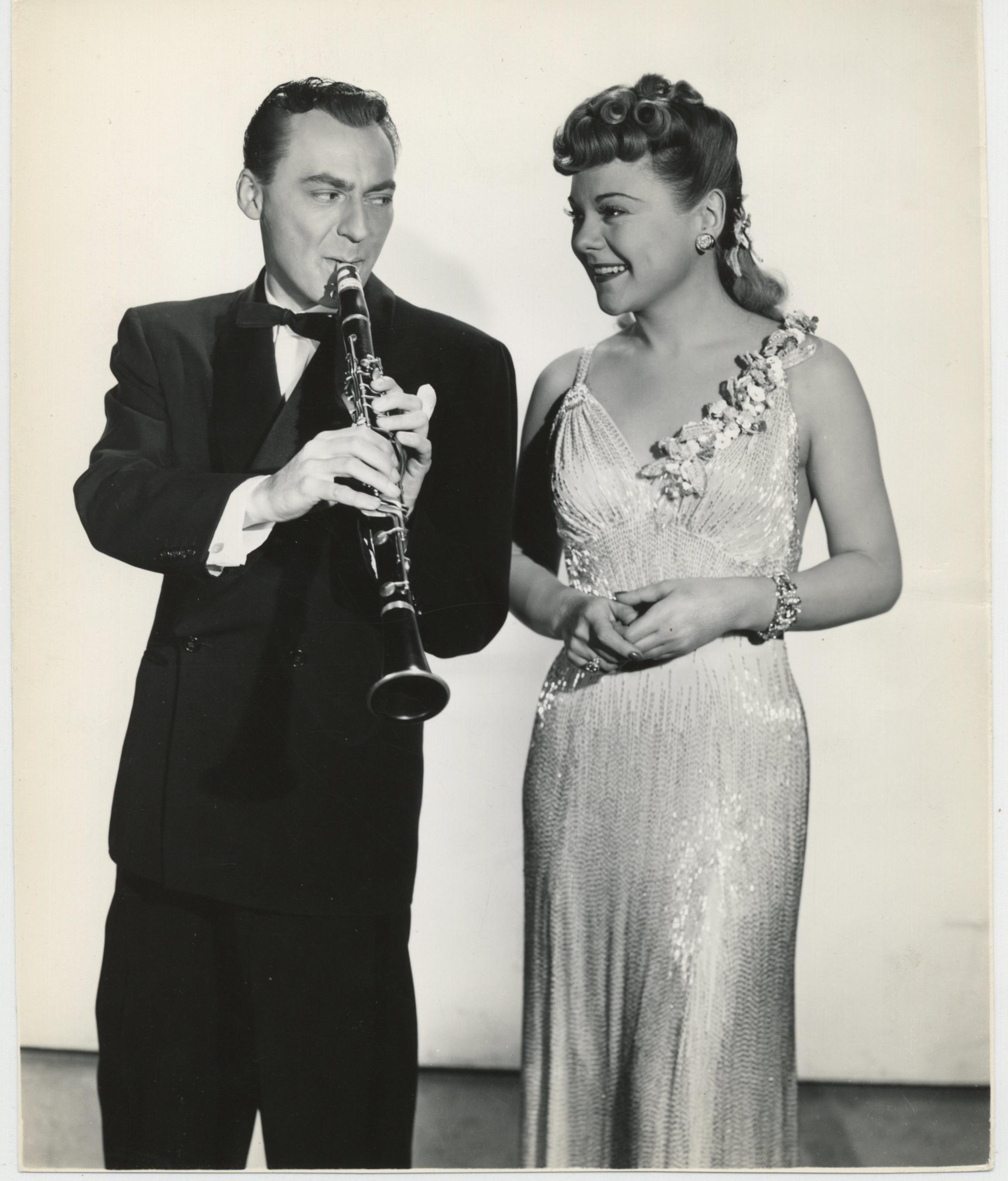 Sonja Henie and Woody Herman in Wintertime (1943)