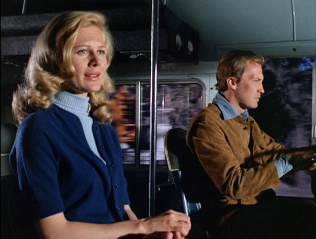Shirley Knight and Roy Thinnes in The Invaders (1967)