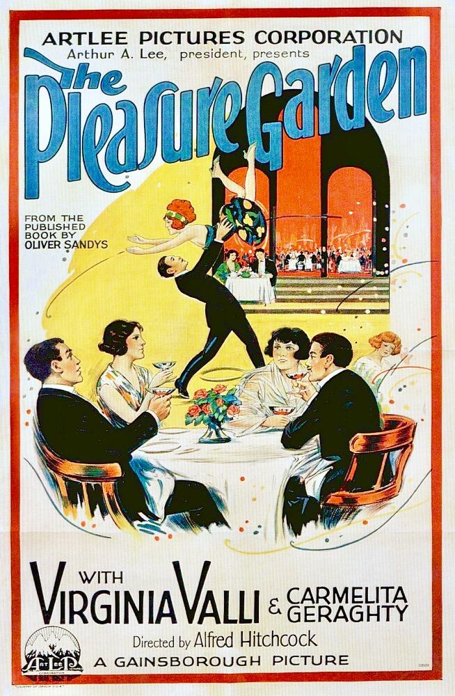 The Pleasure Garden (1925) US poster