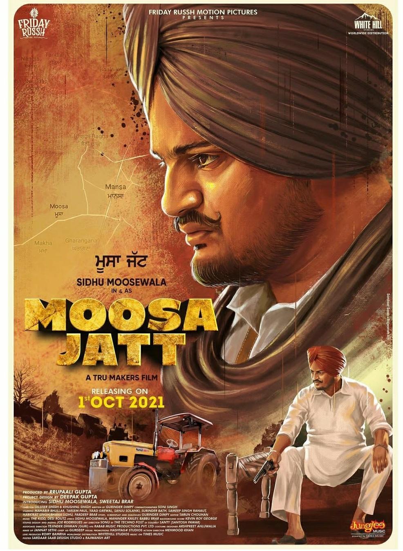 Moosa Jatt (2021) Punjabi Full Movie 400MB HDCAMRip 480p Download
