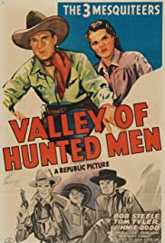 Valley of Hunted Men Poster