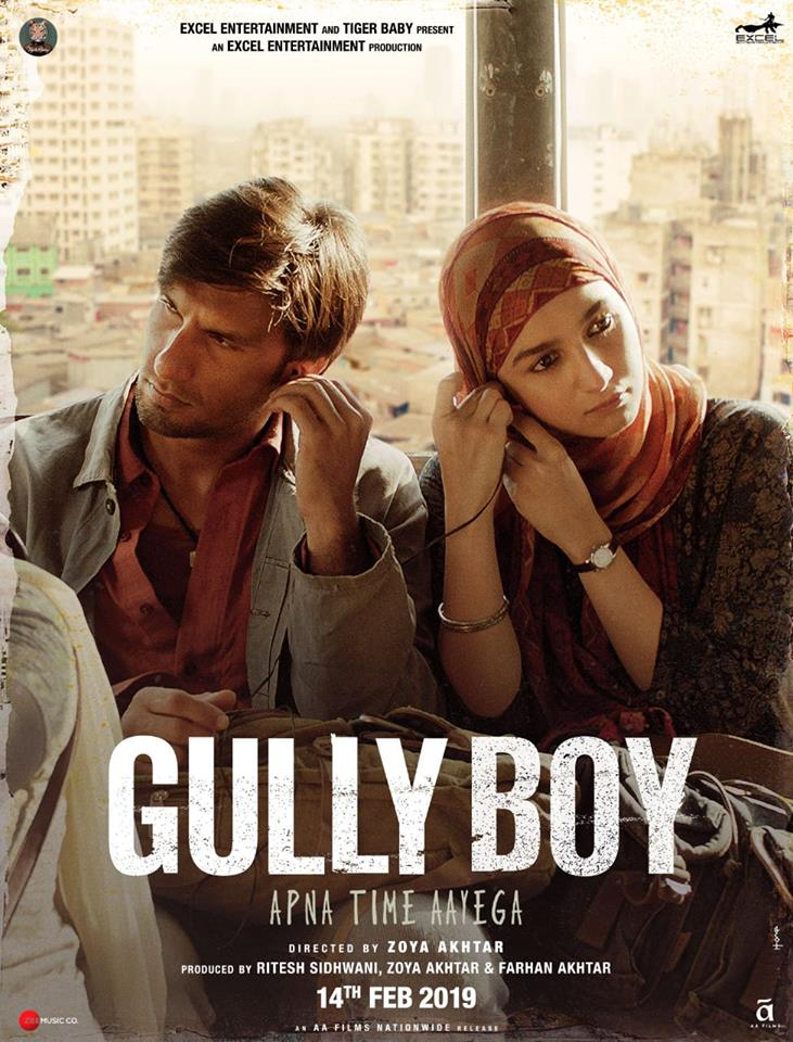 Alia Bhatt and Ranveer Singh in Gully Boy (2019)