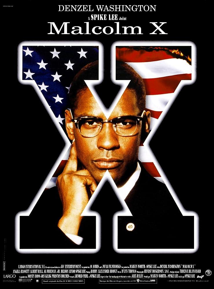 Denzel Washington in Malcolm X (1992)
