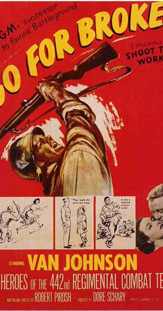 Go for Broke! (1951) Subtitles