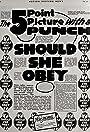 Should She Obey?