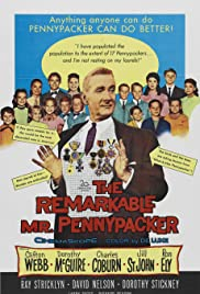 The Remarkable Mr. Pennypacker Poster