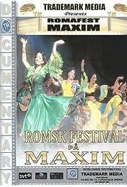 Romsk festival på Maxim Poster