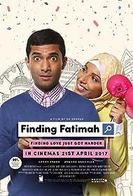 Danny Ashok and Asmara Gabrielle in Finding Fatimah (2017)