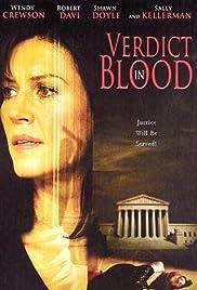 Verdict in Blood Poster