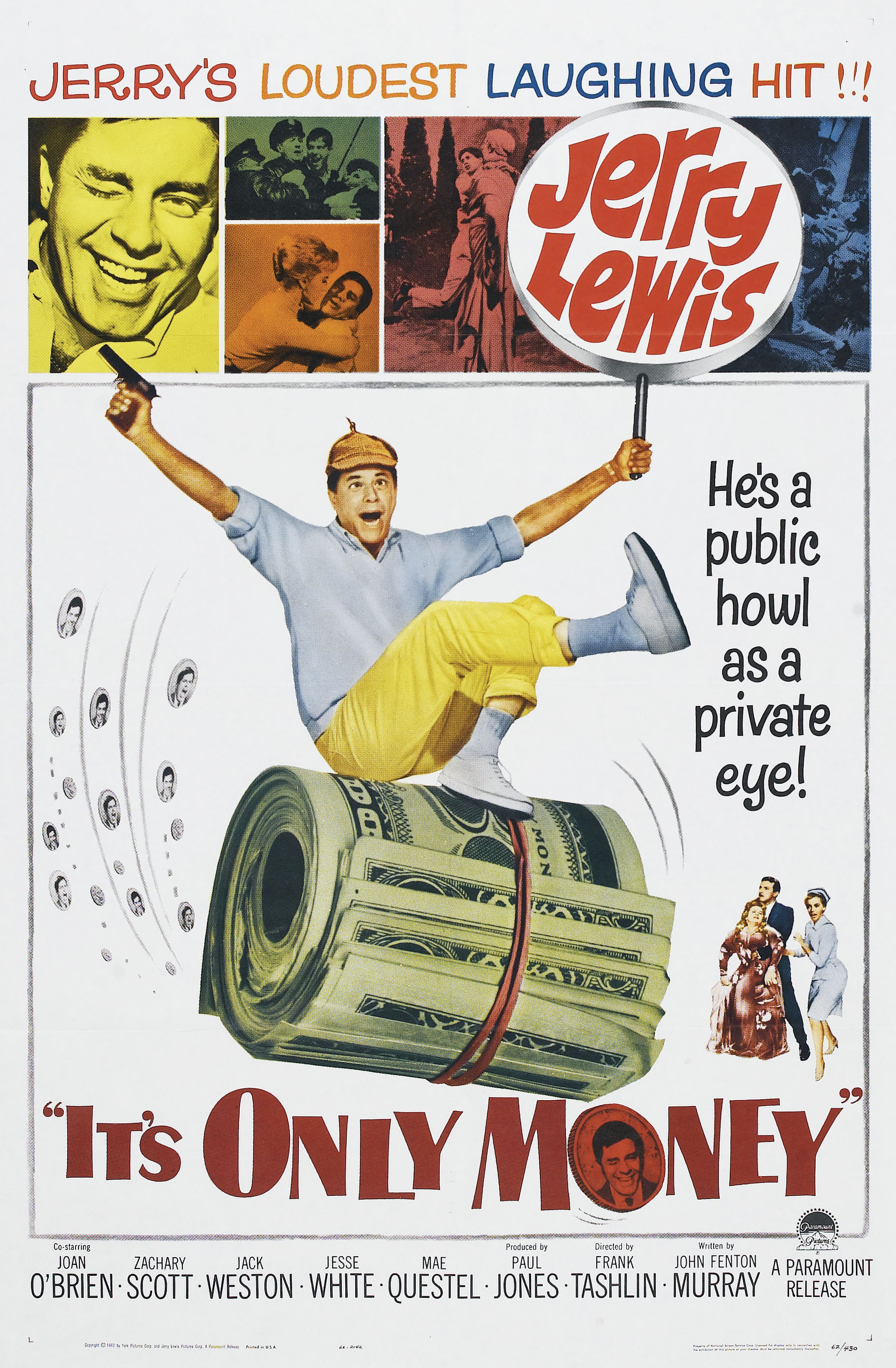 It's Only Money (1962) - IMDb