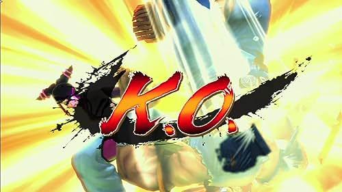 Super Street Fighter IV: Juri Vs T.Hawk Gameplay