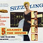 Brian Keith, Kim Novak, Guy Madison, Kerwin Mathews, and Alvy Moore in 5 Against the House (1955)