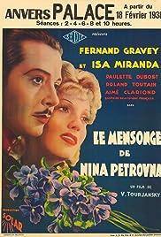 ##SITE## DOWNLOAD Le mensonge de Nina Petrovna (1937) ONLINE PUTLOCKER FREE