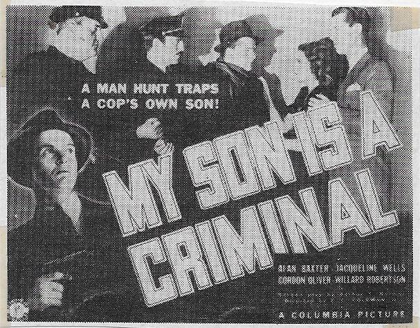 Alan Baxter, Julie Bishop, Joe King, and Gordon Oliver in My Son Is a Criminal (1939)
