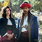 Tania Raymonde and Jan Uddin in Cliffs of Freedom (2019)
