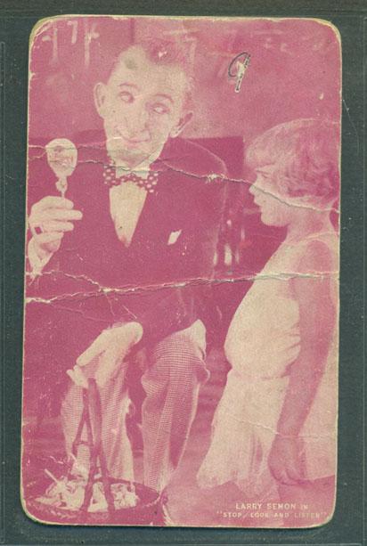 Larry Semon in Stop, Look and Listen (1926)