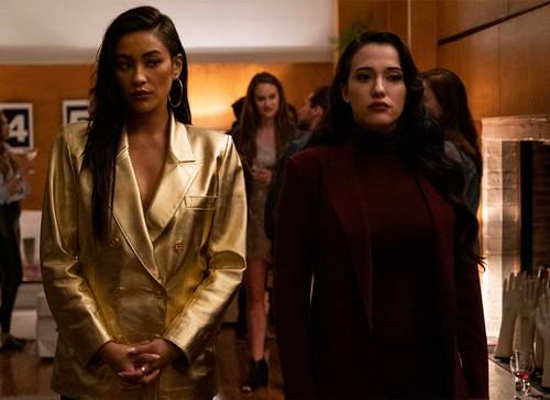 Kat Dennings and Shay Mitchell in Dollface (2019)