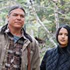 Brandon Oakes and Tanaya Beatty in Through Black Spruce (2018)