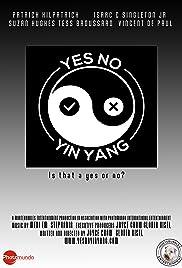 Yes No Yin Yang Poster