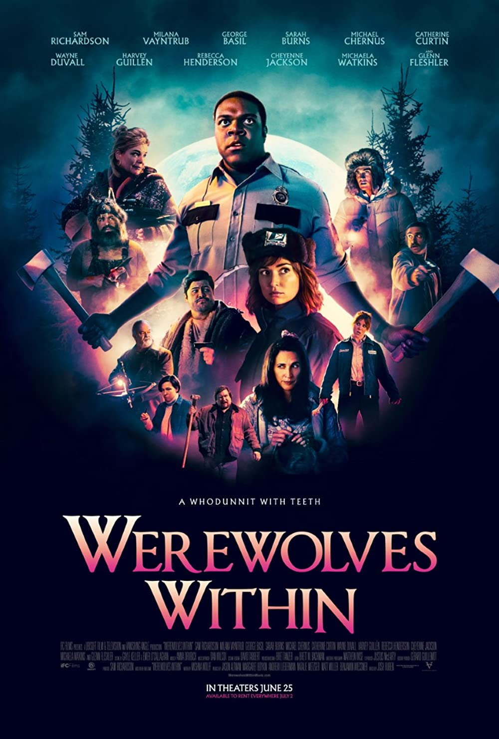 Download Werewolves Within 2021 English 480p HDCAM 300MB
