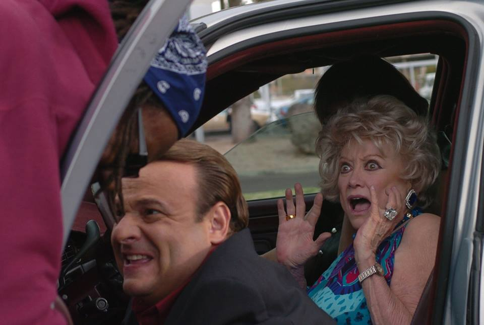 Phyllis Diller and Michael Saquella in Forget About It (2006)