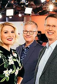 Nicholas Wancke, Sanna Savikko, and Anna Lehmusvesi in Aamu-TV (1997)