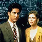 Helen Slater and Jonathan Silverman in 12:01 (1993)