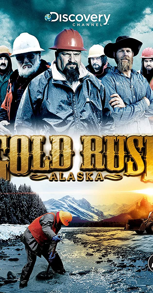Gold Rush Alaska Stream