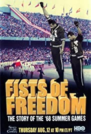 Fists of Freedom: The Story of the '68 Summer Games Poster