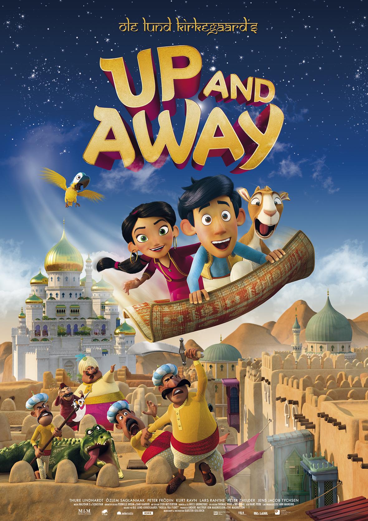 Up And Away 2018 Hindi ORG Dual Audio 480p, 720p, 1080p HDRip  Download