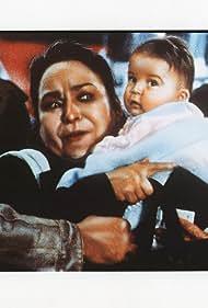 Carmen Salinas and Leslie Montero in Justicia de nadie (1991)