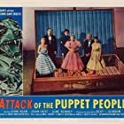 John Agar and June Kenney in Attack of the Puppet People (1958)