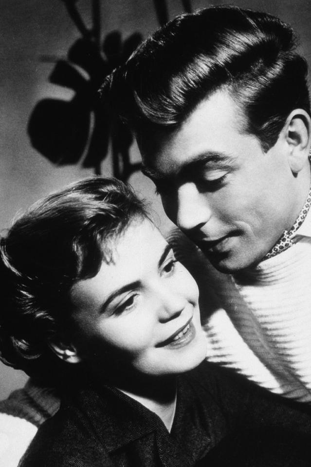 Claus Biederstaedt and Annemarie Düringer in Vor Sonnenuntergang (1956)