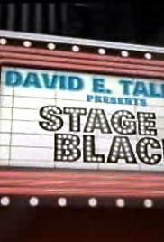 Stage Black Poster