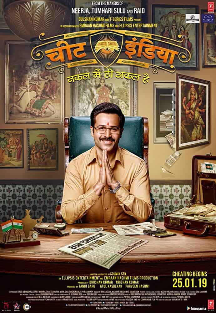Why Cheat India (2019) Hindi Pre-DvDRip x264 720p,480p   700MB,300MB Full Movies Download , Watch Online