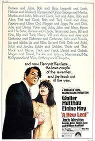 Walter Matthau and Elaine May in A New Leaf (1971)