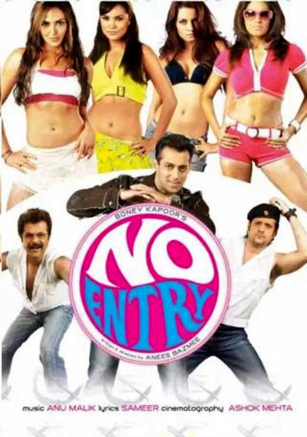 Salman khan to play double role in no entry mein entry video id.