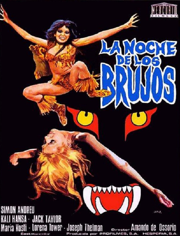 Phim Đêm Của Các Phù Thủy - The Night of the Sorcerers (La noche de los brujos) (1974)