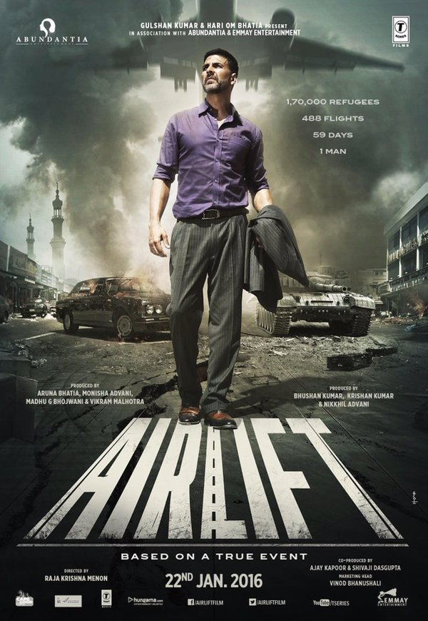 Airlift 2016 1080p Hindi BluRay 2.2GB x264